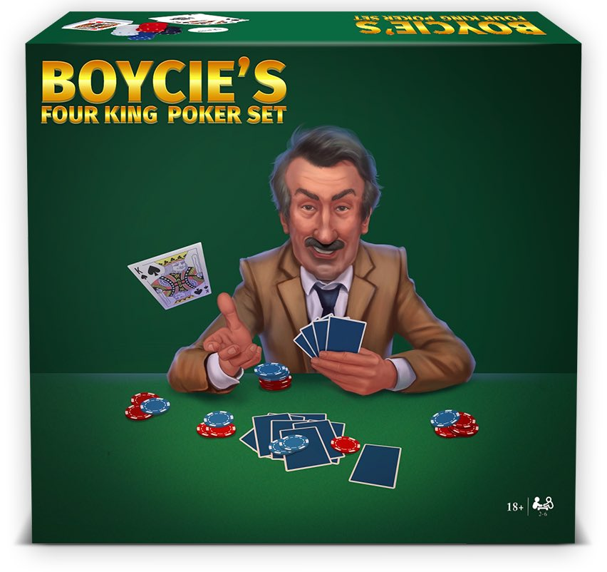 Boycie's Four King Poker